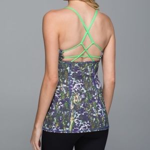 Lululemon Dancing Warrior Tank Top